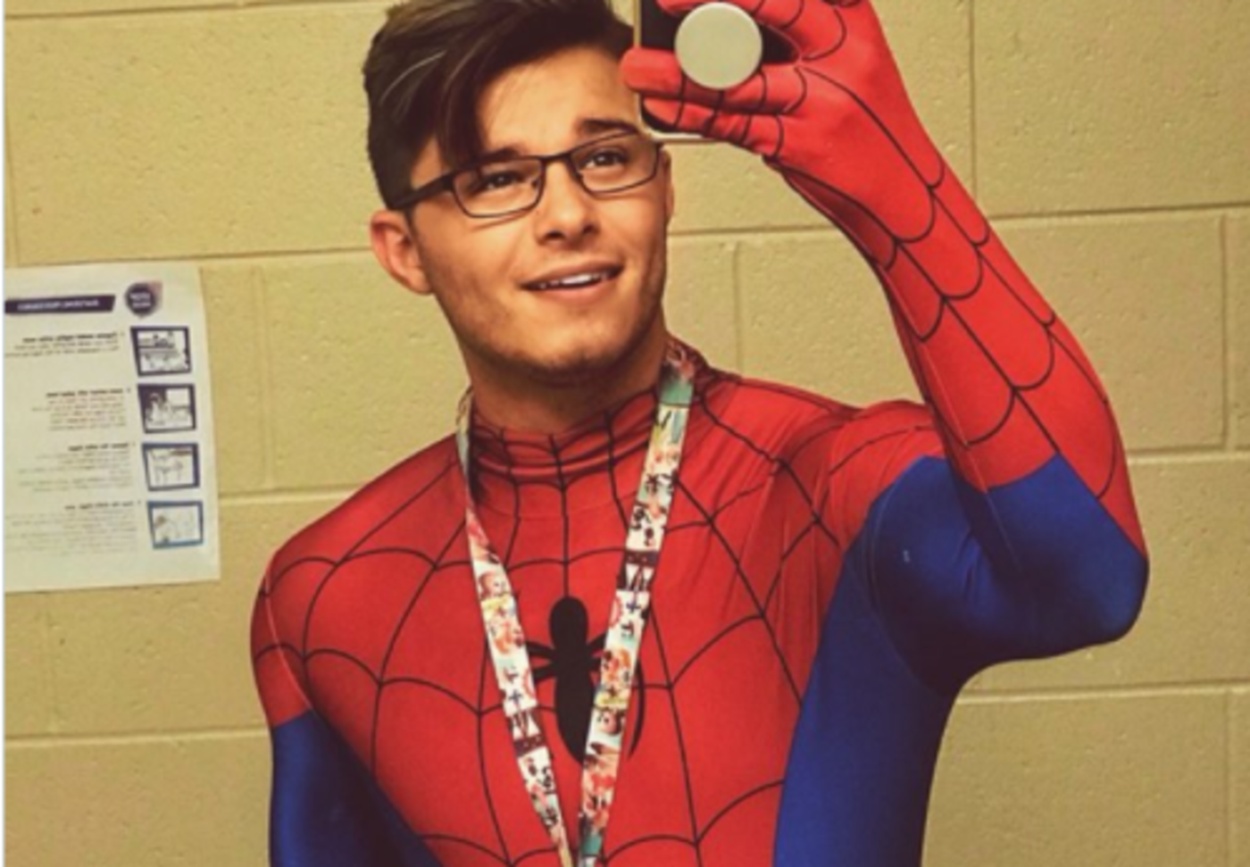 Gay Spiderman Finding